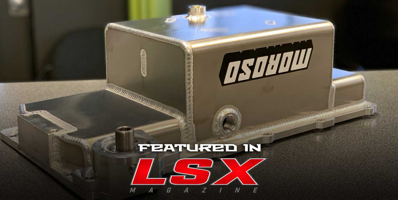 Moroso And LS4 King Team Up On A Unique LS Oil Pan