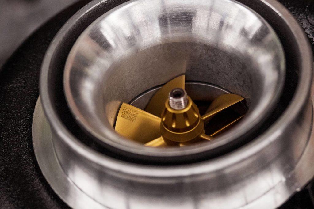 Bullseye Power Turbo Detail