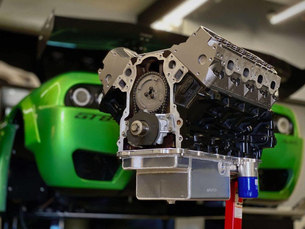 Oil Pan on Motor